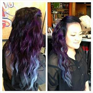 Ombre purple to silver | Tangerine Hair Studio | Pinterest ...