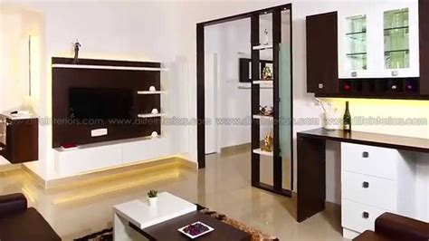 D'life Home Interiors Bangalore : Interiors Of A Fully Furnished Flat By D'life At Kottayam