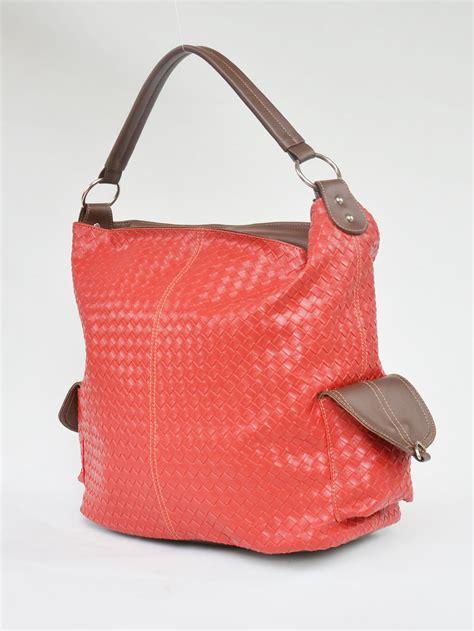koleksi tas cangklong wanita motif anyaman murah
