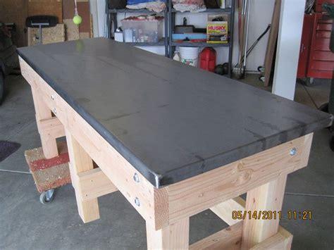 work bench top ideas  garage journal board garage