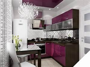 Interior Trends 2017 : interior design trends 2017 purple kitchen ~ Frokenaadalensverden.com Haus und Dekorationen