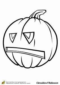Citrouille Halloween Dessin : coloriage jolie citrouille halloween ~ Melissatoandfro.com Idées de Décoration