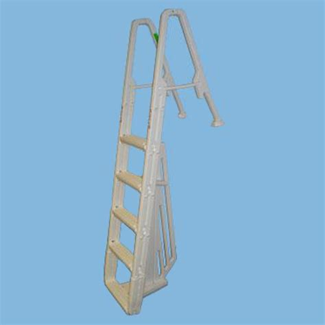 confer deck mount ladder in pool above ground steps con6100b
