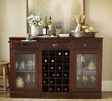 Bar Buffet Sideboard by 3 Modular Bar Buffet 2 Glass Door Cabinet 1 Wine