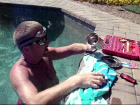 changing pool light how to replace a pool light bulb l