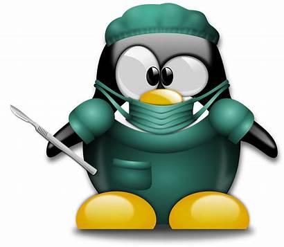 Surgery Clipart Surgeon Funny Doctor Clip Penguin