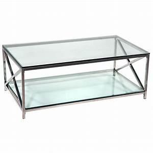 Furniture viyet designer furniture tables b mori co for Brushed nickel coffee table