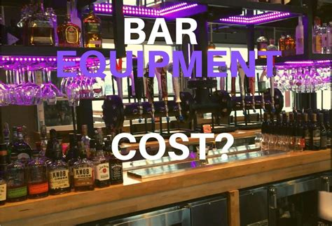 How Much Does A Bar Cost by How Much Does Bar Equipment Cost Cabaret Design