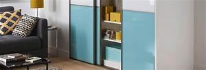 Porte Coulissante Miroir Sur Mesure : les portes de placard coulissantes sur mesure ~ Premium-room.com Idées de Décoration
