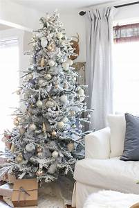 Adding, This, To, My, Christmas, Tree, Decorating, Ideas, Inspiration, Created, A, U0026quot, Frosted, U0026quot, Look, With, A
