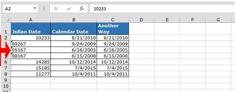 convert julian date calendar date microsoft excel microsoft