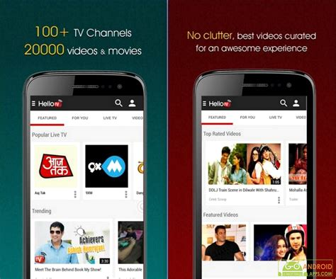 free tv on mobile 5 best free mobile tv apps for android devices