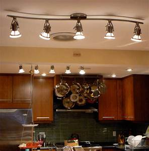 Led track lights for kitchen mapo house and cafeteria for Track lighting kitchen