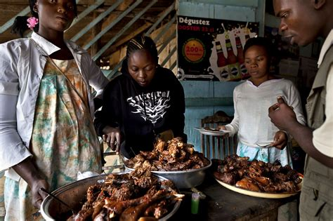 appetite  bush meat persists  africas city dwellers