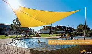 Sonnensegel Uv Schutz : sonnensegel attraktiver uv schutz f r terrasse oder balkonsonnensegel kugelmann ~ Markanthonyermac.com Haus und Dekorationen