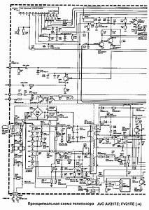 Jvc Av21te Fv21te Service Manual Download  Schematics
