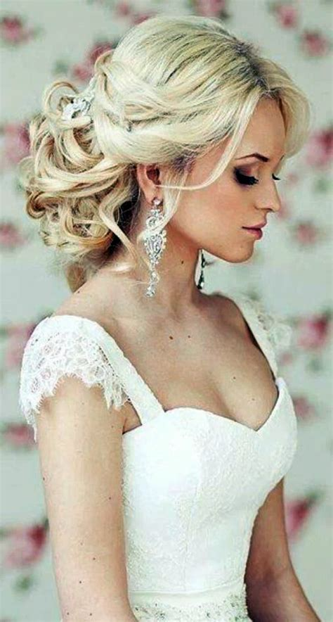 bridal hairstyle  open    style