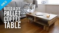 build a coffee table How to build a DIY rustic pallet coffee table - YouTube