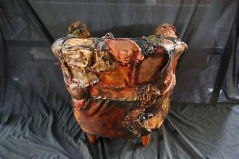 Ed Gein Lounge Chair by Ed Gein Lounge Human Skin Chair World Of Arts