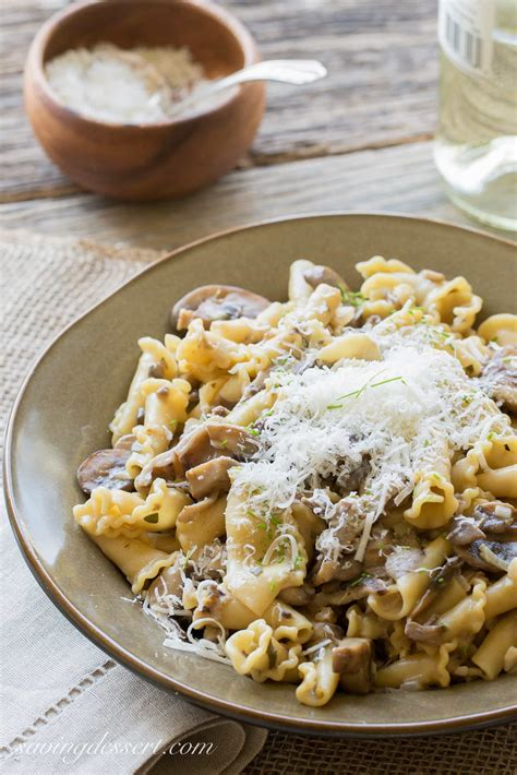 Pasta With Mushroom Sauce Cooks Country