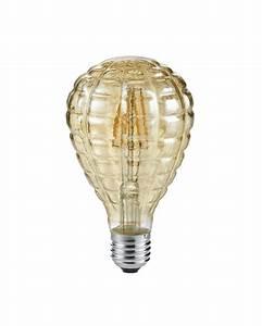 Deko Led Leuchtmittel : led deko leuchtmittel mit struktur birnenf rmig ~ Markanthonyermac.com Haus und Dekorationen