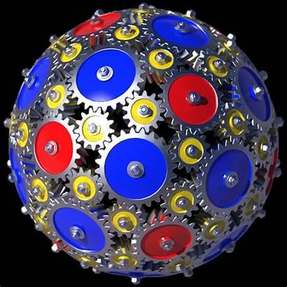 Gears Clock Boing Animated Sphere Animation Forward