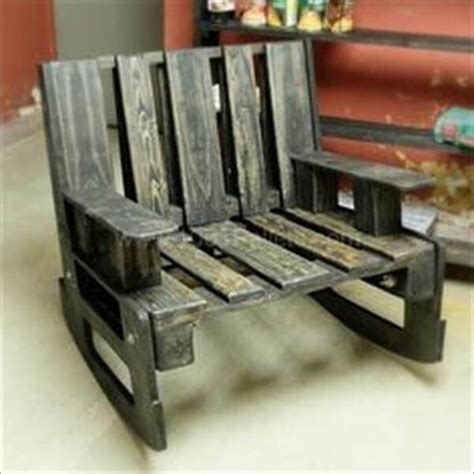 diy wooden pallet rocking chairs design pallets designs