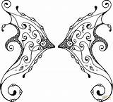 Wings Coloring Pages Fairy Wing Fire Pattern Sheets Print Svg Template Double Printable Supercoloring Drawing Clip Adult Clipart Colorings Templates sketch template