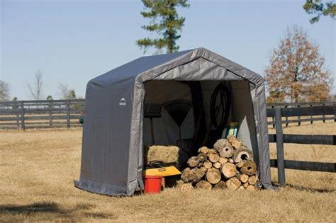 canvas storage sheds menards scole portable wood shed