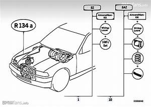 Air Conditioning System R134a Bmw 3 U0026 39  E36  318is  M42