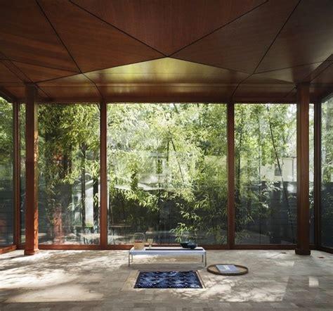 japanese meditation room meditation room shaped like a japanese lantern tea house by david jameson interior