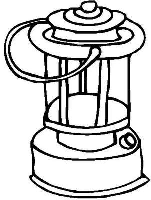lantern template  coloring page coloring