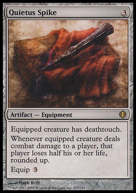 Best Artifact Commander Deck by Quietus Spike Artifact Cards Mtg Salvation