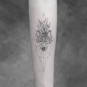 Tatouage Loup Celtique : tatouage loup et t te de loup mod les et signification en images ~ Farleysfitness.com Idées de Décoration
