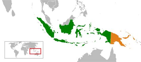 indonesiapapua  guinea relations wikipedia