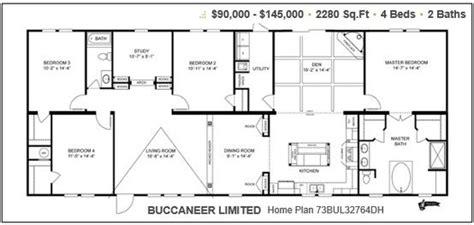 buldh buccaneer limited   modular home plans mobile home floor plans house