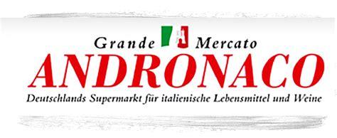 italienischer supermarkt grande mercato andronaco ortel