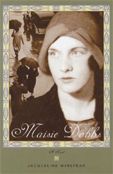 maisie dobbs by jacqueline winspear blogging for a book