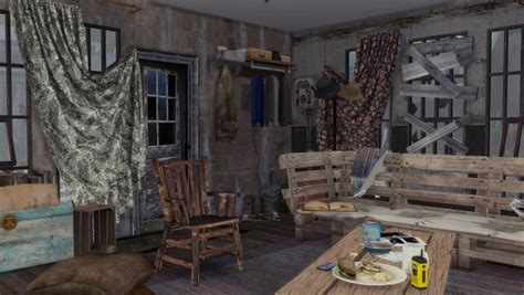 frau engel post apocalyptic life house sims  downloads