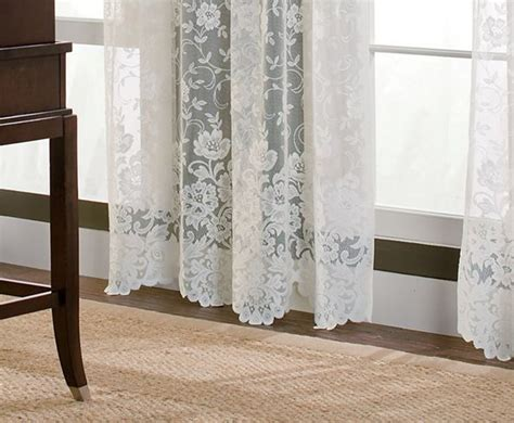 Jcpenney White Lace Curtains by Jcpenney Lace Curtains Vintage Lace 84 Curtain Pair Jc
