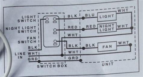 vent fanlightnight light combo