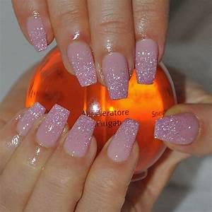 Hot Pink Glitter Nails   www.pixshark.com - Images ...