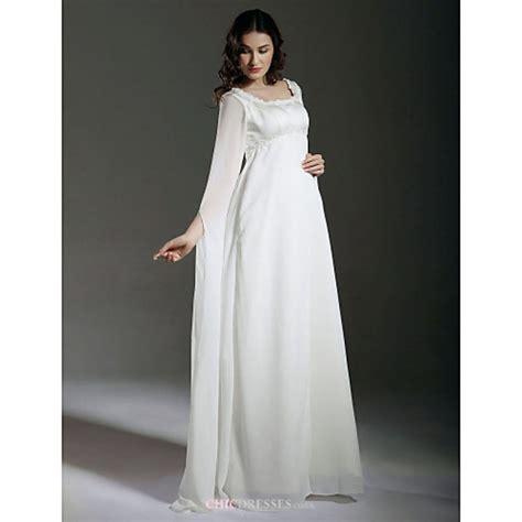 sheathcolumn maternity wedding dress ivory floor length