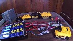 Dewalt 12v  20v Max Battery Custom Charging
