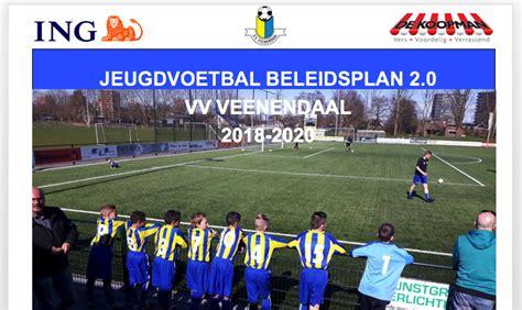 jeugdvoetbal beleidsplan   voetbal vereniging veenendaal