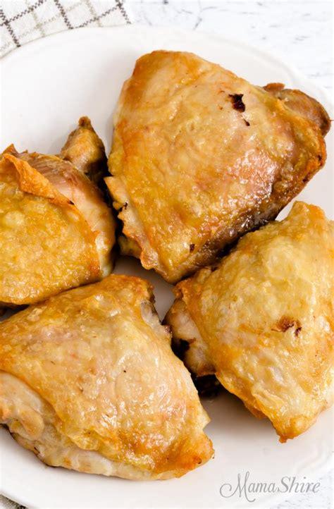 chicken air thighs fryer keto mamashire