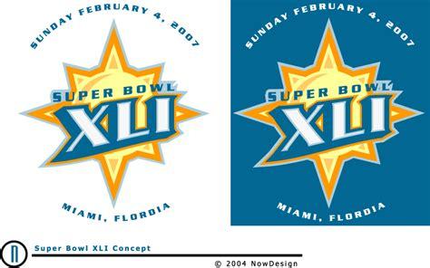 Super Bowl Xli Concept Sports Logos Chris Creamers