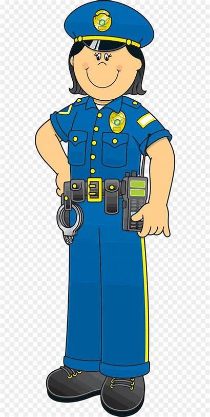 Police Officer Clipart Clip Officers Cartoon Uniform