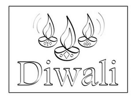 diwali coloring pages  kids diwalicraftsforkids