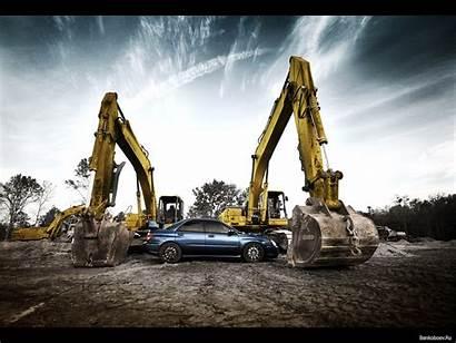 Excavator Subaru Wrx Wallpapers Bagger Desktop Backgrounds